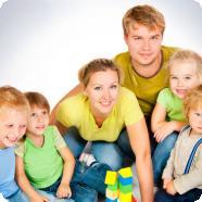 Скоро в России многодетных семей будет больше